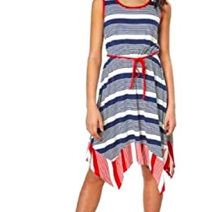 Red, white and blue mini dress ❤💙